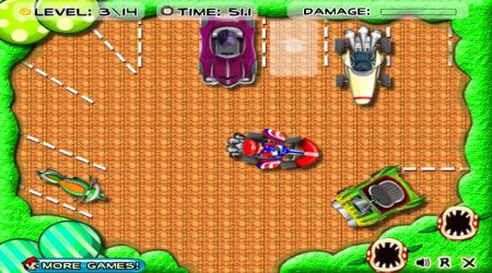 Screenshot - Mario Kart Parking
