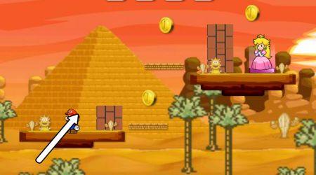 Screenshot - Mario Princess Kiss 2