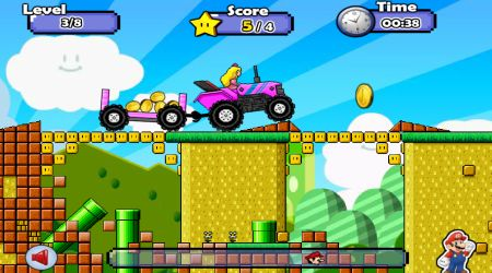 Screenshot - Mario Tractor 4