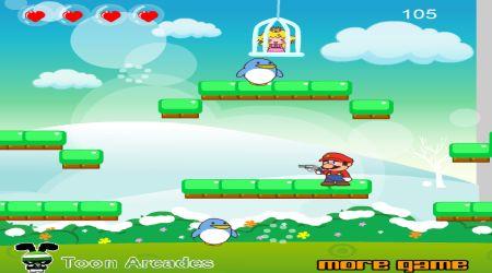 Screenshot - Snowy Mario