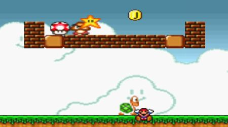 Screenshot - Super Mario Flash